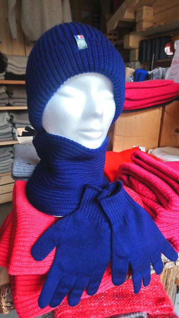 bonnet gant enfant doux laine chaud francais