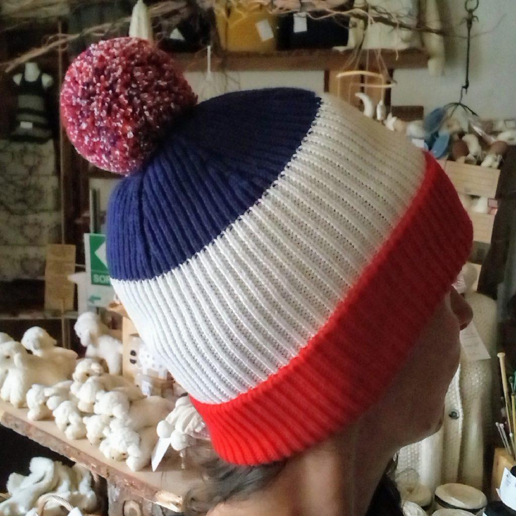 bonnet tricolore france doux fabrication