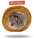 grosse bobine laine multicolore