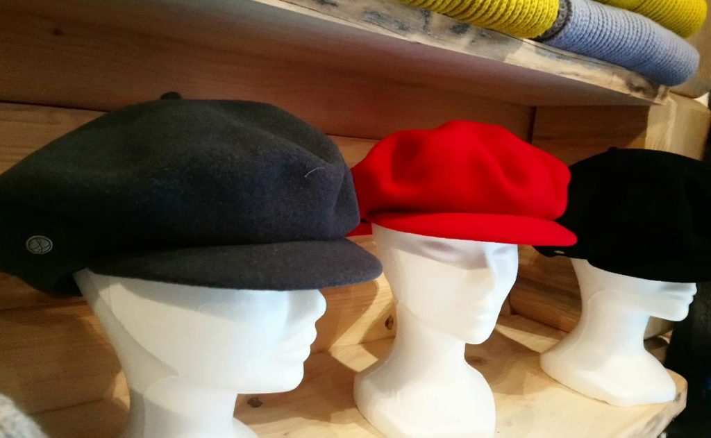 casquette laine dou fabrication france