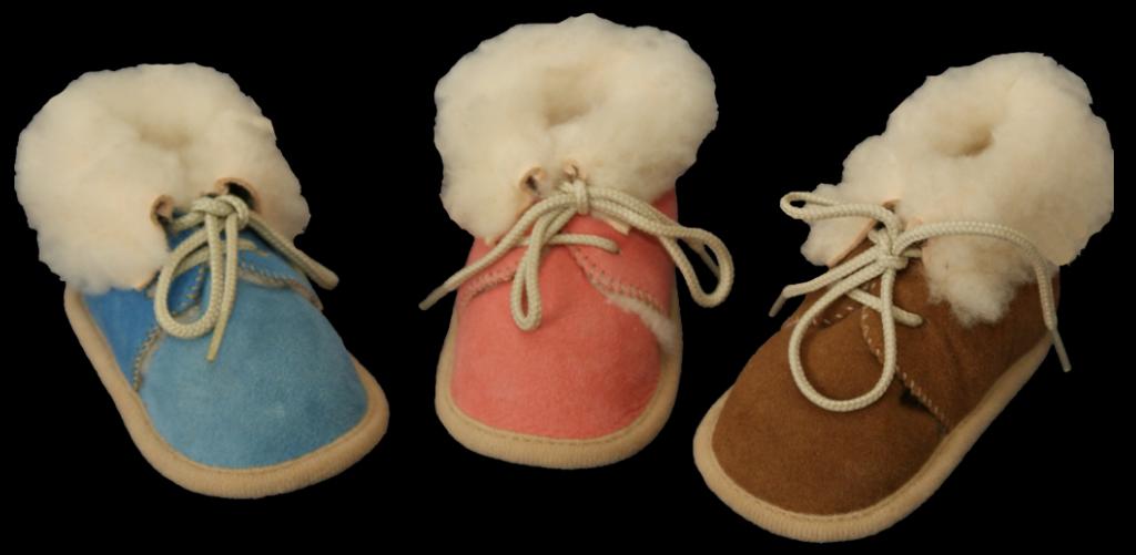 chausson bebe laine mouton chaud
