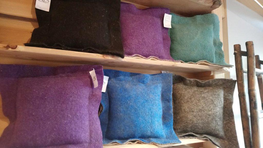 coussin laine feutre mouton fabrication franc