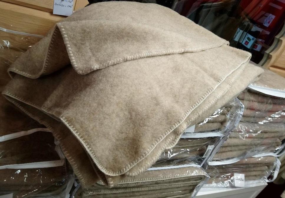 couverture laine pure naturel franc chaud dou