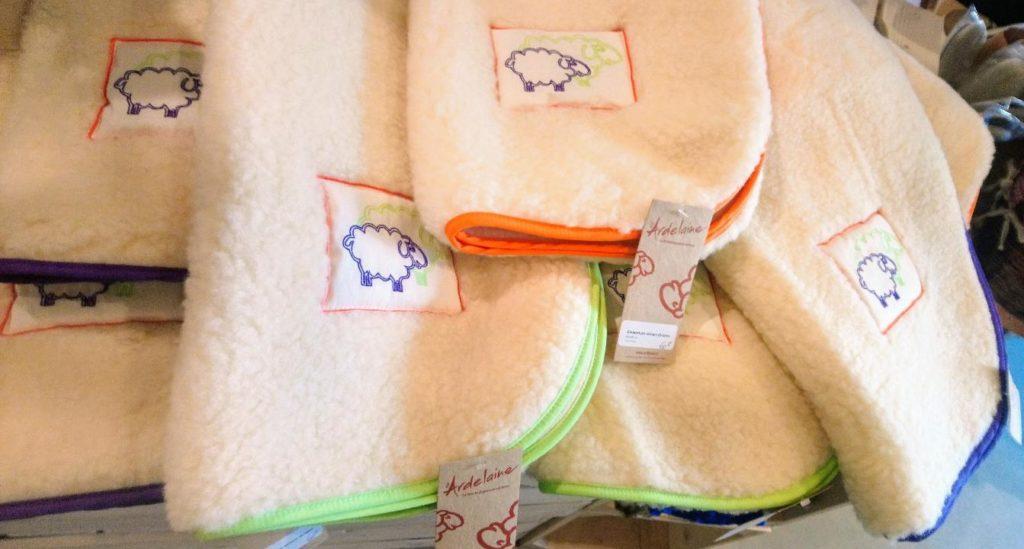 couverture bebe laine dou fabrication franc