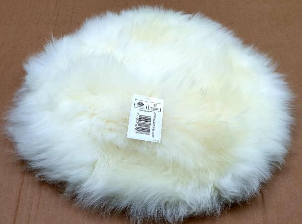 coussin peau laine dou mouton