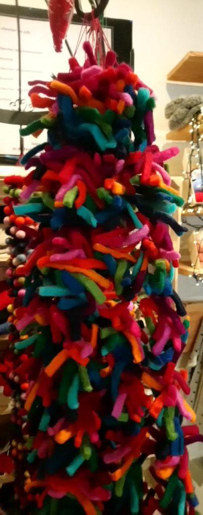 guirlande deco laine