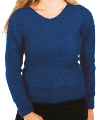 pull femme mohair chaud doux fabrication franc