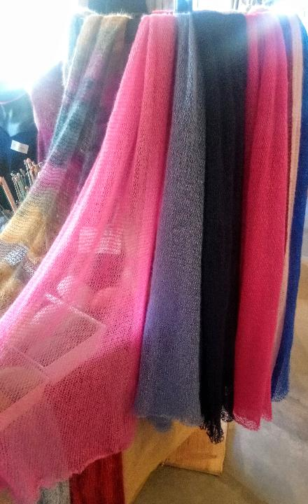 echarpe foulard mohair fabrication france