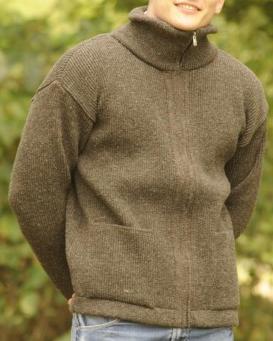 veste laine chaud fabrication franc naturel