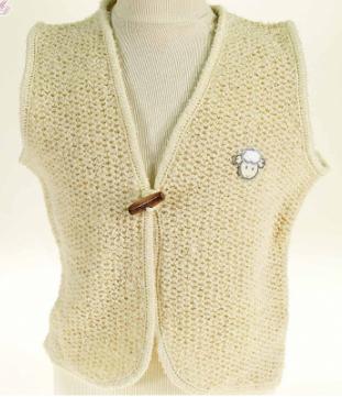 gilet laine enfant chaud fabrication france