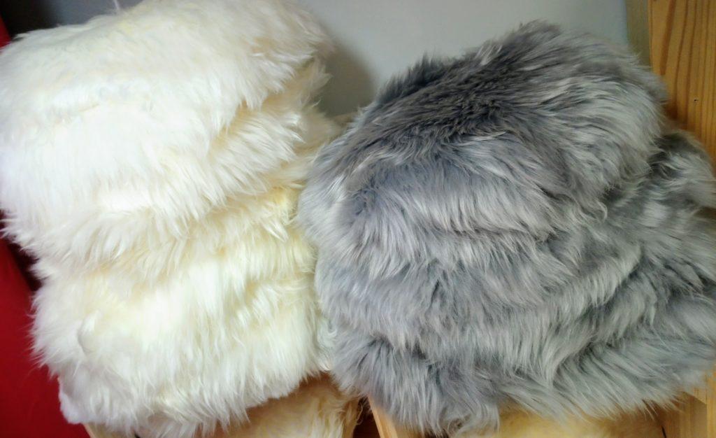 peau merinos mouton galette chaise