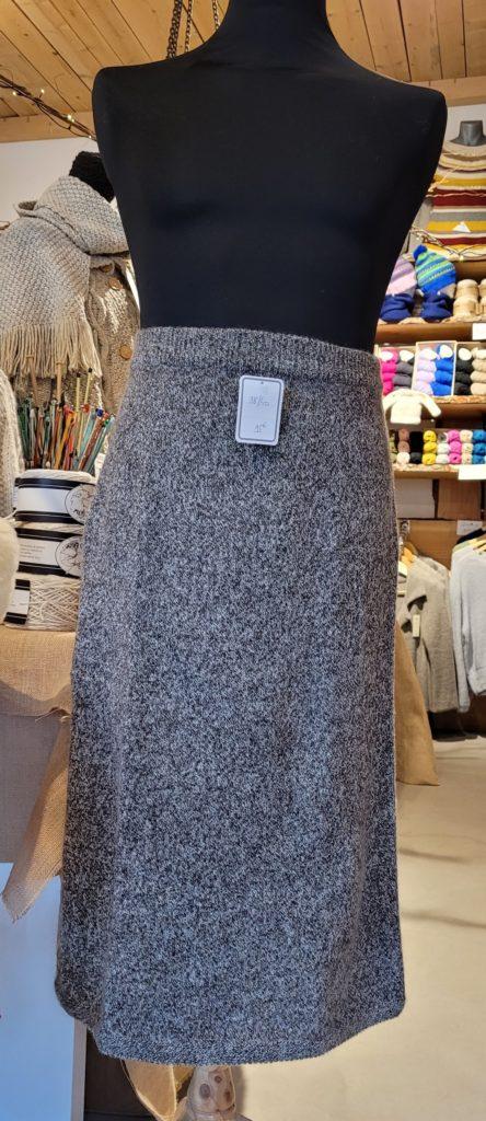 jupe laine chaude longue